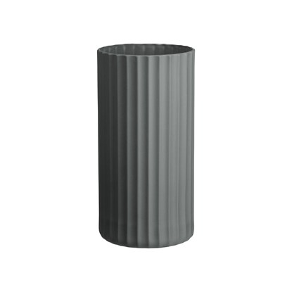 Váza YOKO 24 cm šedá_1