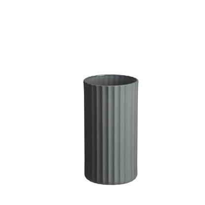 Váza YOKO 16 cm šedá_1