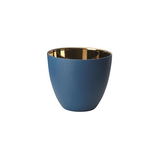 Svícen 7,2 cm modrý_0
