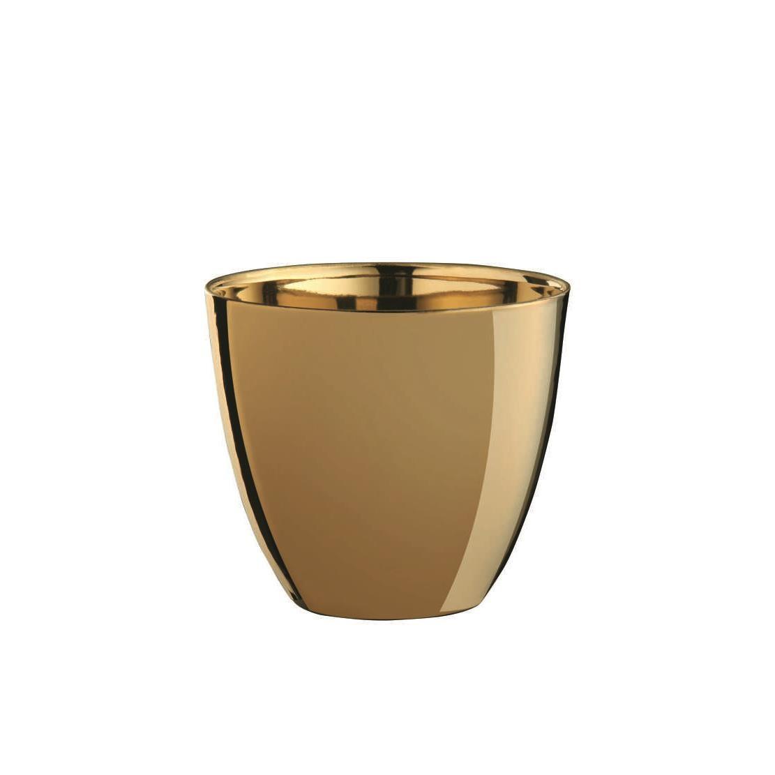 Svícen 7,2 cm zlatý_0