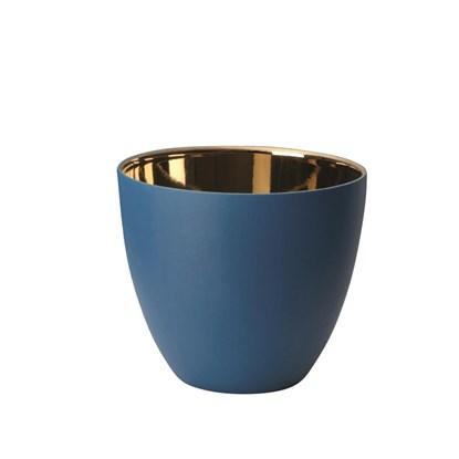 Svícen 9 cm modrý_0