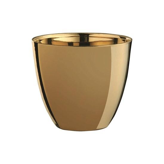 Svícen 9 cm zlatý_0