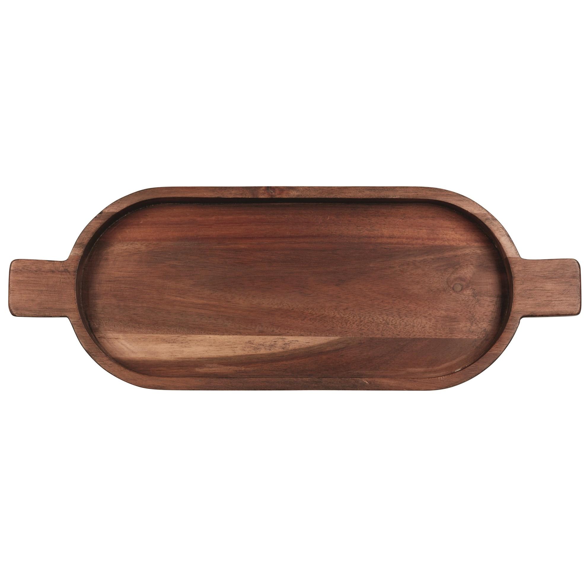 Dřevěná mísa s rukojetí WOOD 49 cm_0
