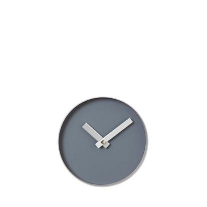 Nástěnné hodiny RIM malé šedé_0