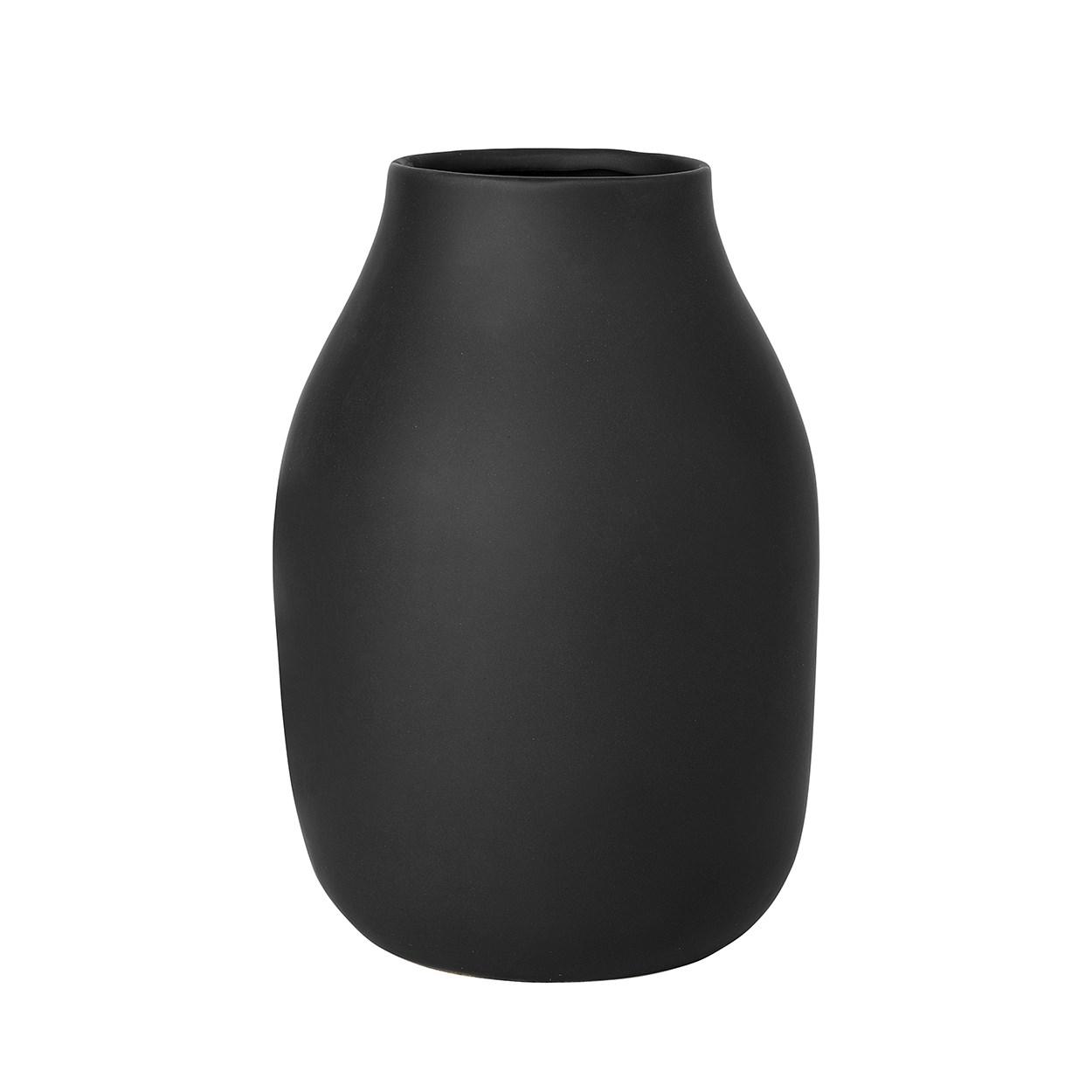 Váza COLORA 20 cm antracitová_1