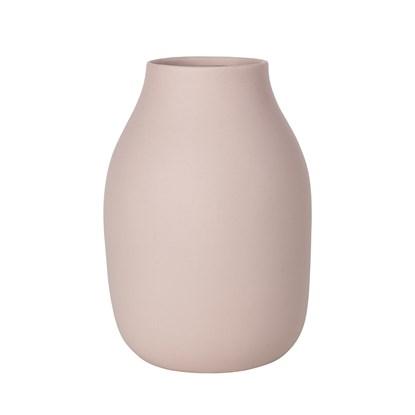Váza COLORA 20 cm růžová_1