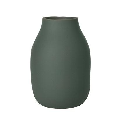 Váza COLORA 20 cm agave zelená_1
