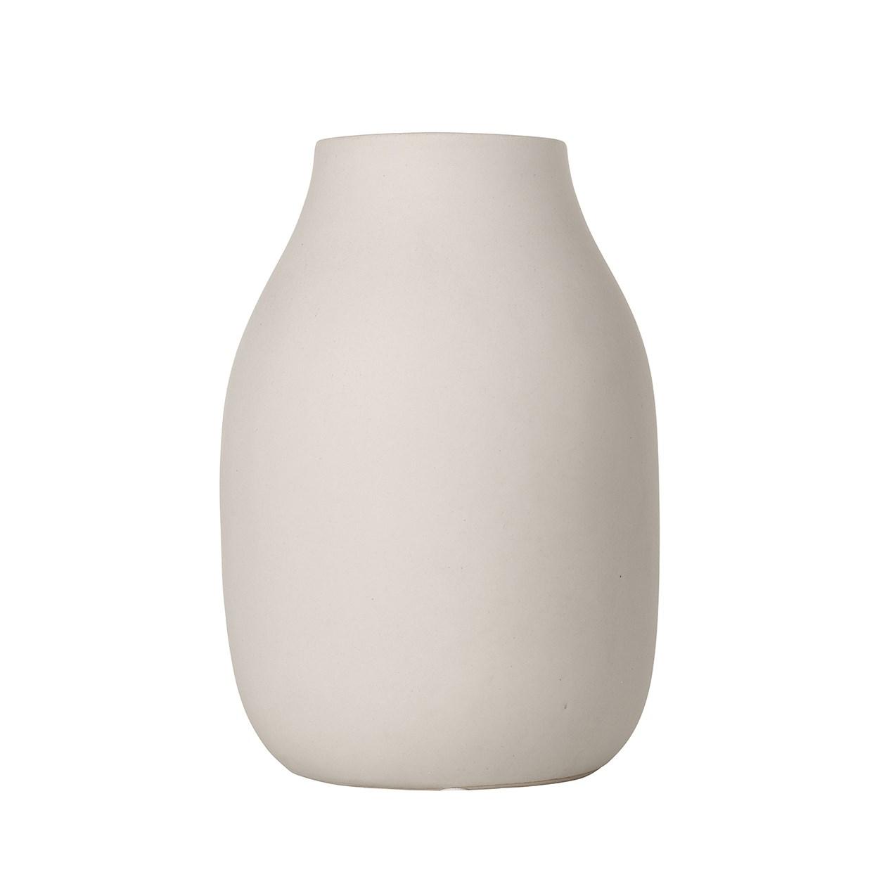 Váza COLORA 20 cm jemně béžová_0
