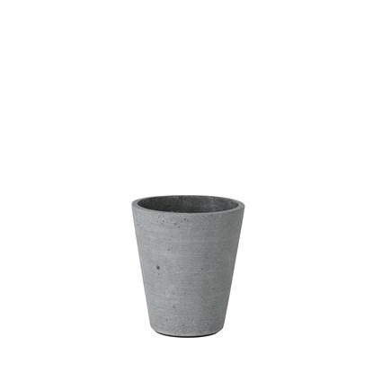 Květináč COLUNA 12,5 cm, tmavošedý_0