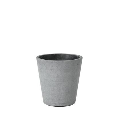 Květináč COLUNA 14,5 cm, tmavošedý_0