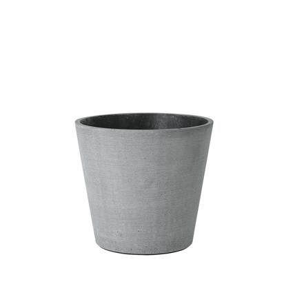 Květináč COLUNA 16,5 cm, tmavošedý_0