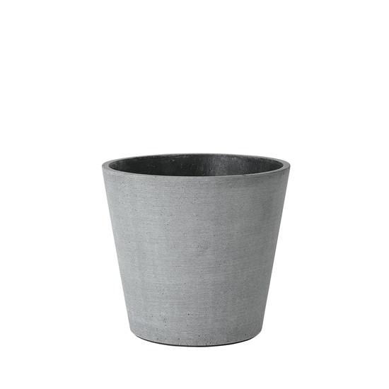 Květináč COLUNA 16,5 cm tmavošedý_0