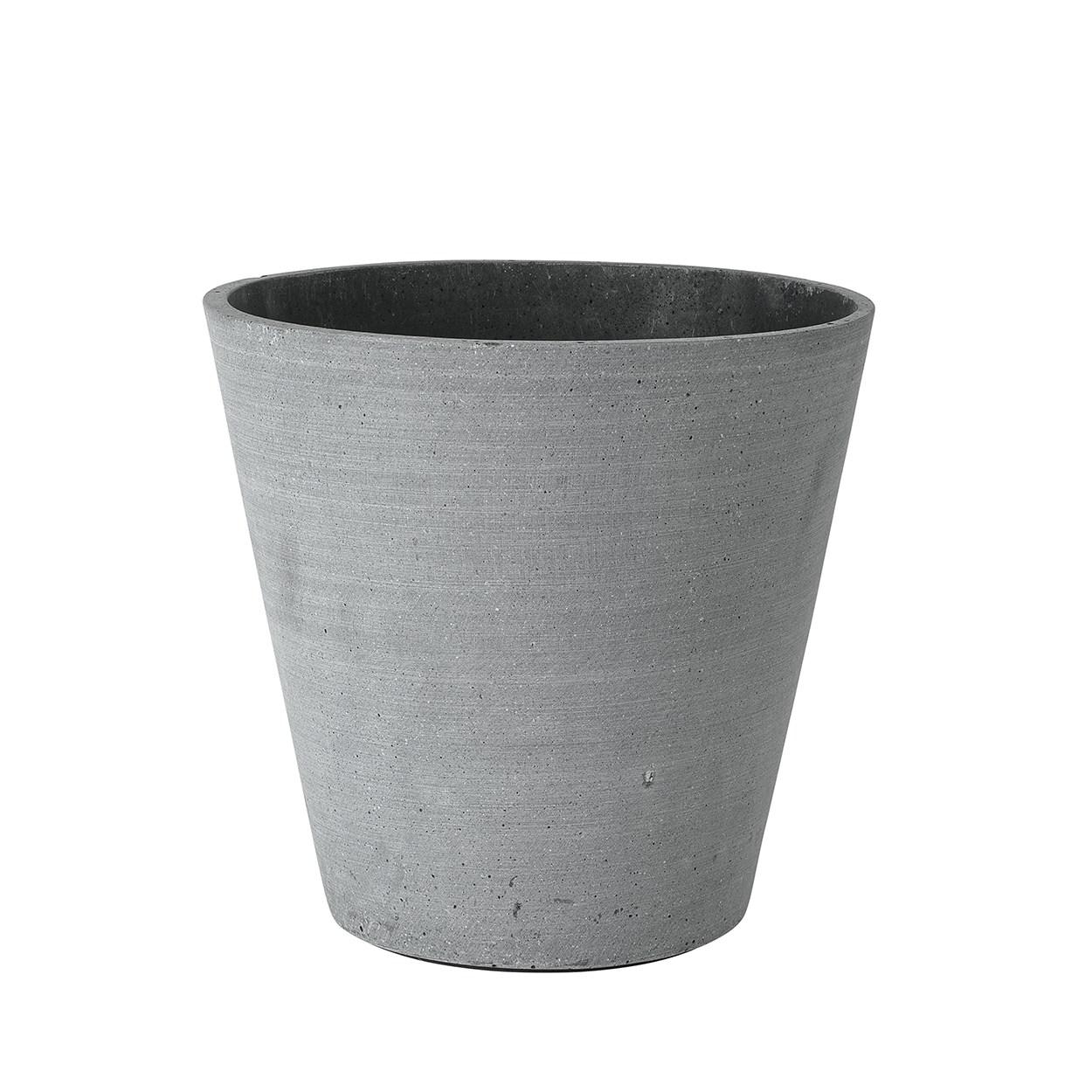 Květináč COLUNA 24 cm tmavošedý_0