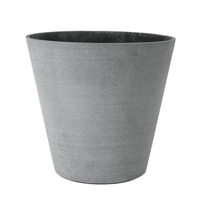 Květináč COLUNA 32 cm tmavošedý_0
