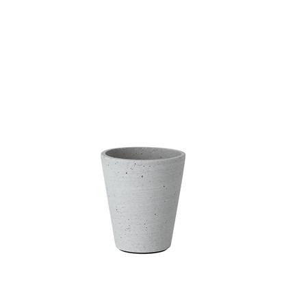 Květináč COLUNA 12,5 cm světle šedý_0