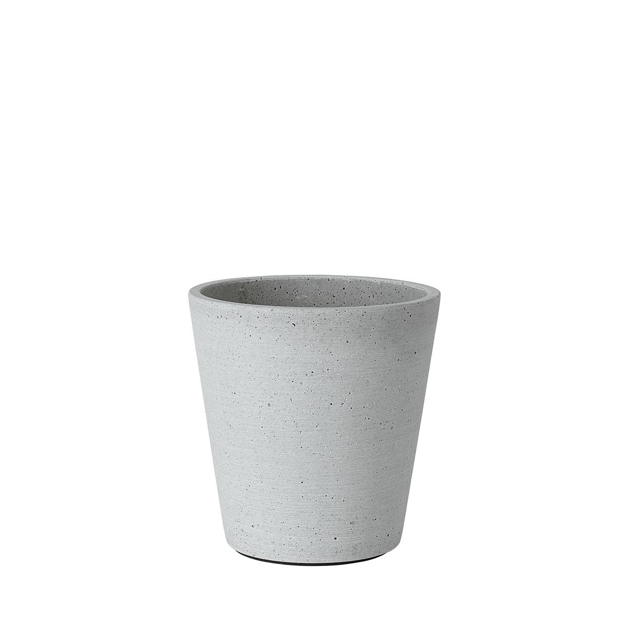 Květináč COLUNA 14,5 cm světle šedý_0