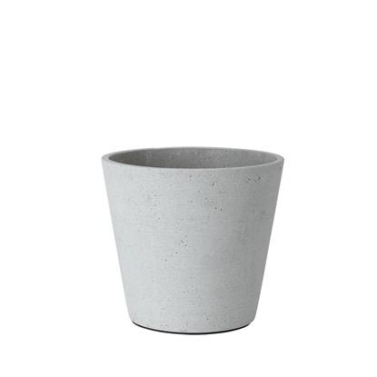 Květináč COLUNA 16,5 cm světle šedý_0