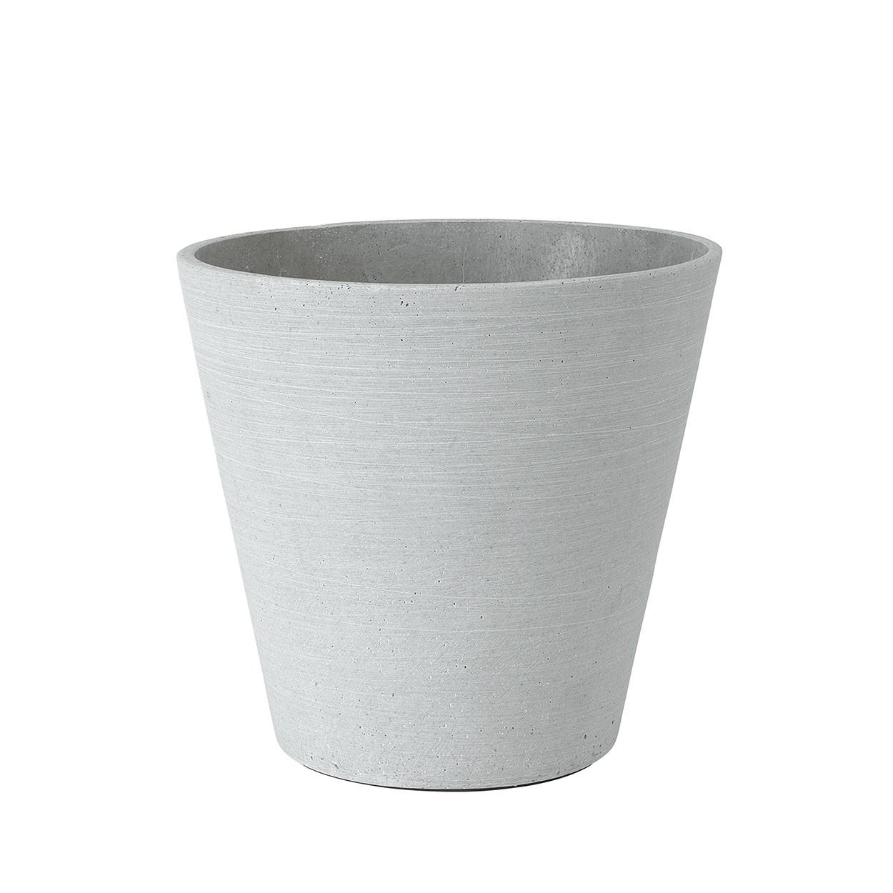 Květináč COLUNA 24 cm světle šedý_0
