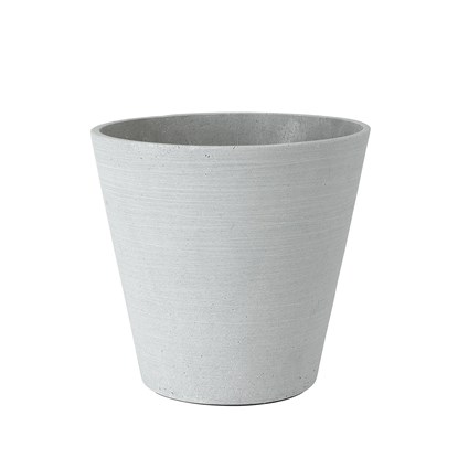 Květináč COLUNA 24 cm, světle šedý_0