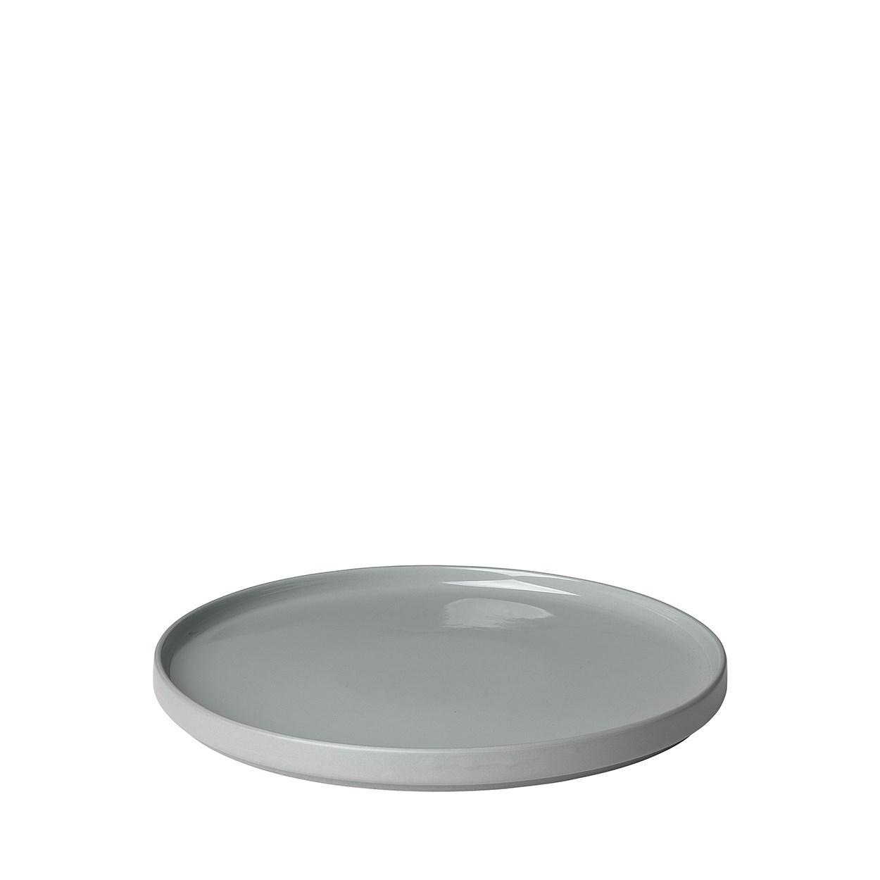 Mělký talíř MIO 27 cm šedá_0