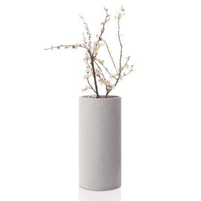 Váza COLUNA 29 cm světle šedá_1