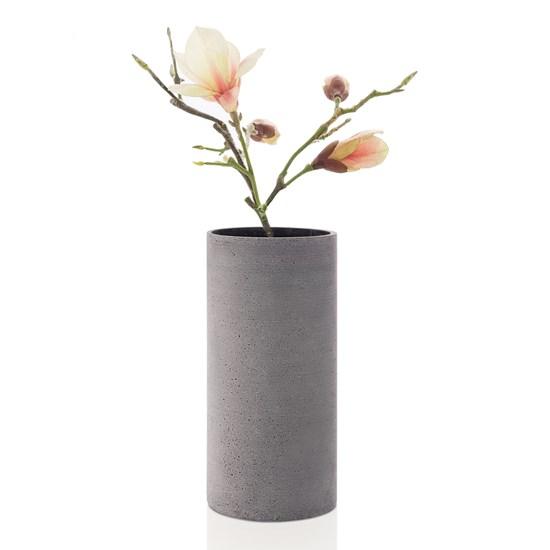 Váza COLUNA 29 cm tmavě šedá_1