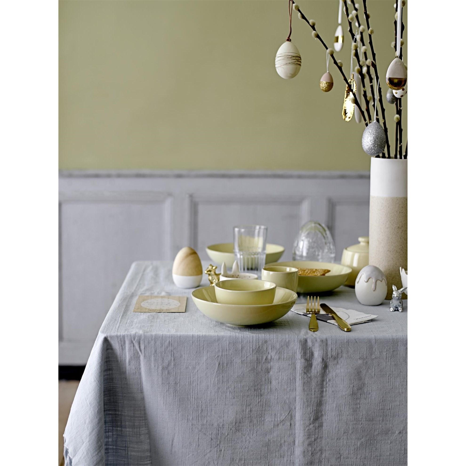 Závěsná dekorace vejce SET/2ks bílozlaté_1
