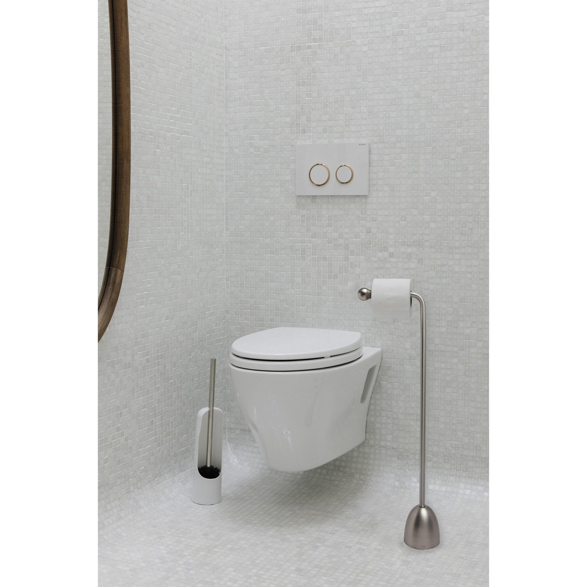 Držák na toaletní papír HERON nikl_0