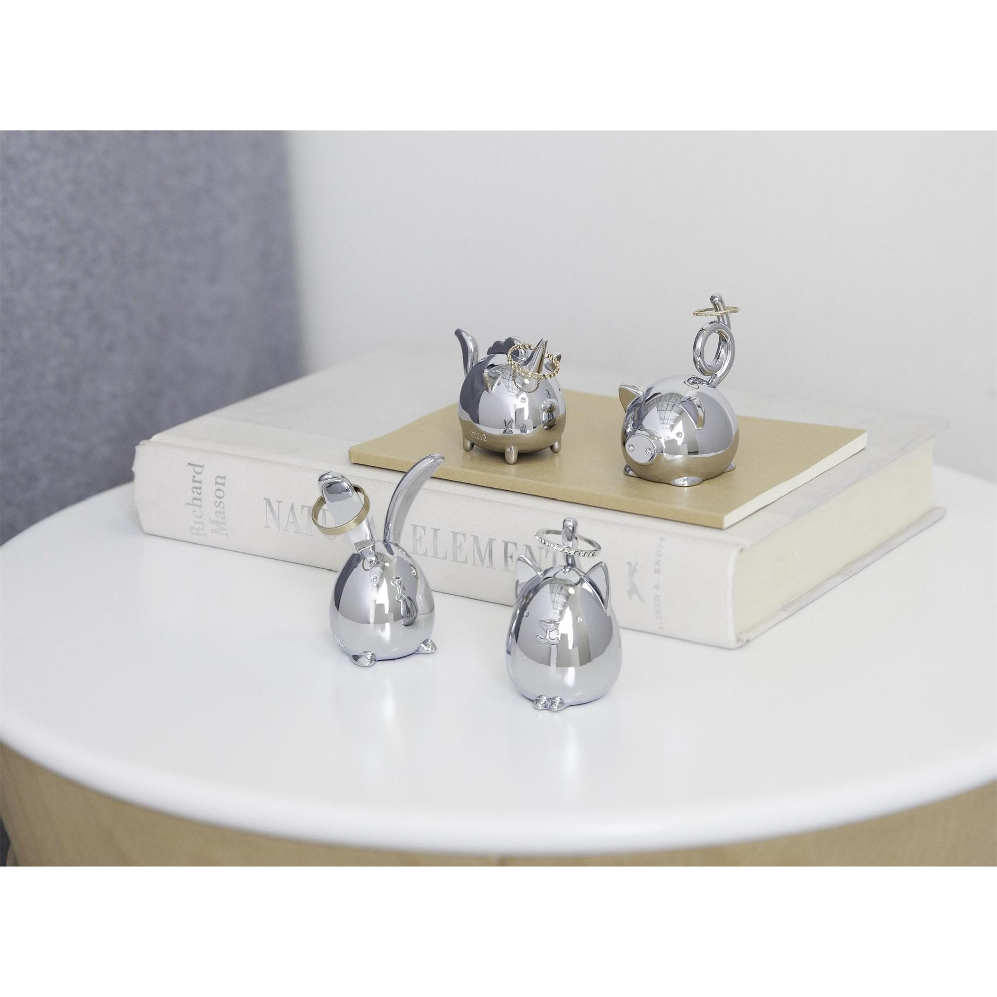 Šperkovnice SQUIGGY PIG chrom_0