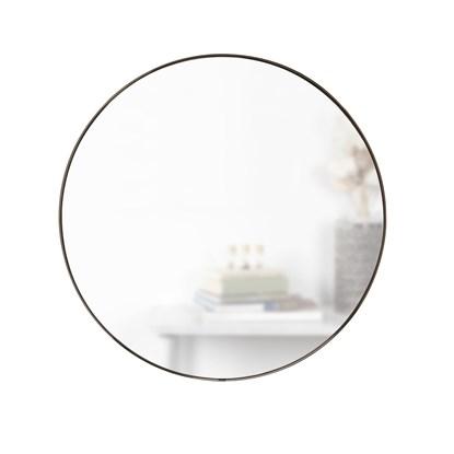 Zrcadlo HUBBA 86.5 cm s titanovým lemem_1