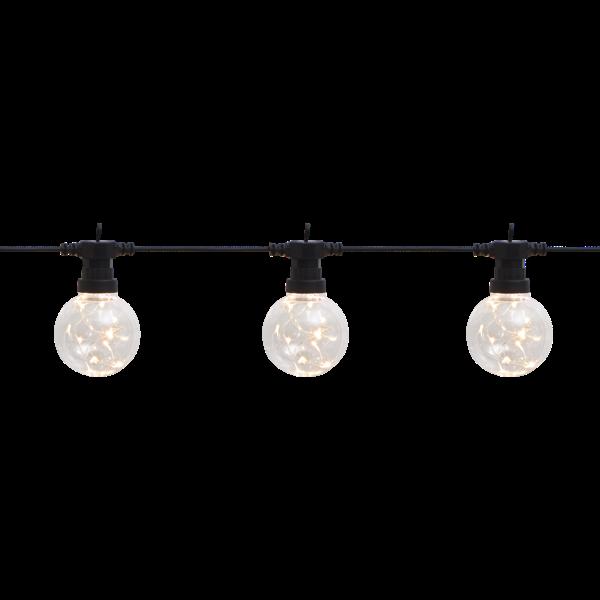 Světelný řetěz BIGCIRKUS 10x LED černý_1