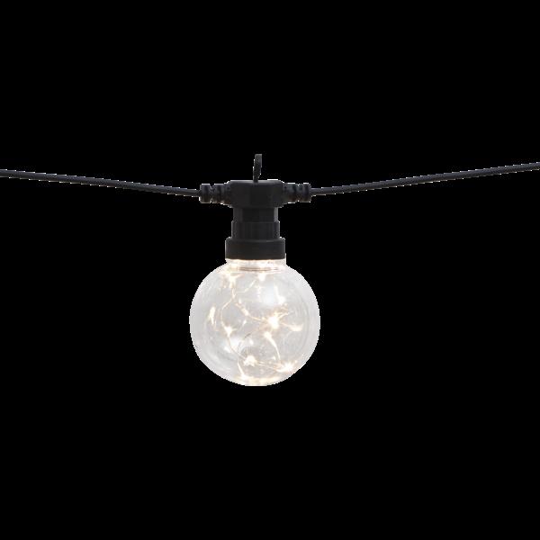 Světelný řetěz BIGCIRKUS 10x LED černý_2
