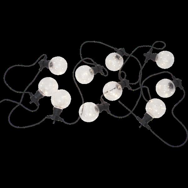 Světelný řetěz BIGCIRKUS 10x LED černý_3