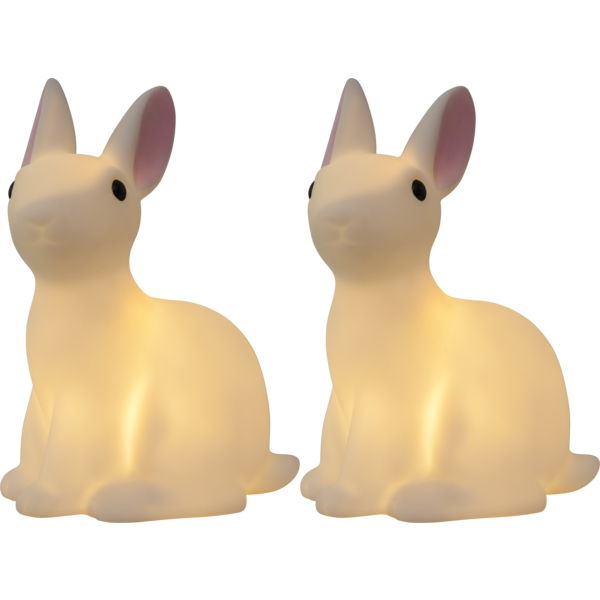 LED-dětské osvětlení zajíc SET/2 ks_1