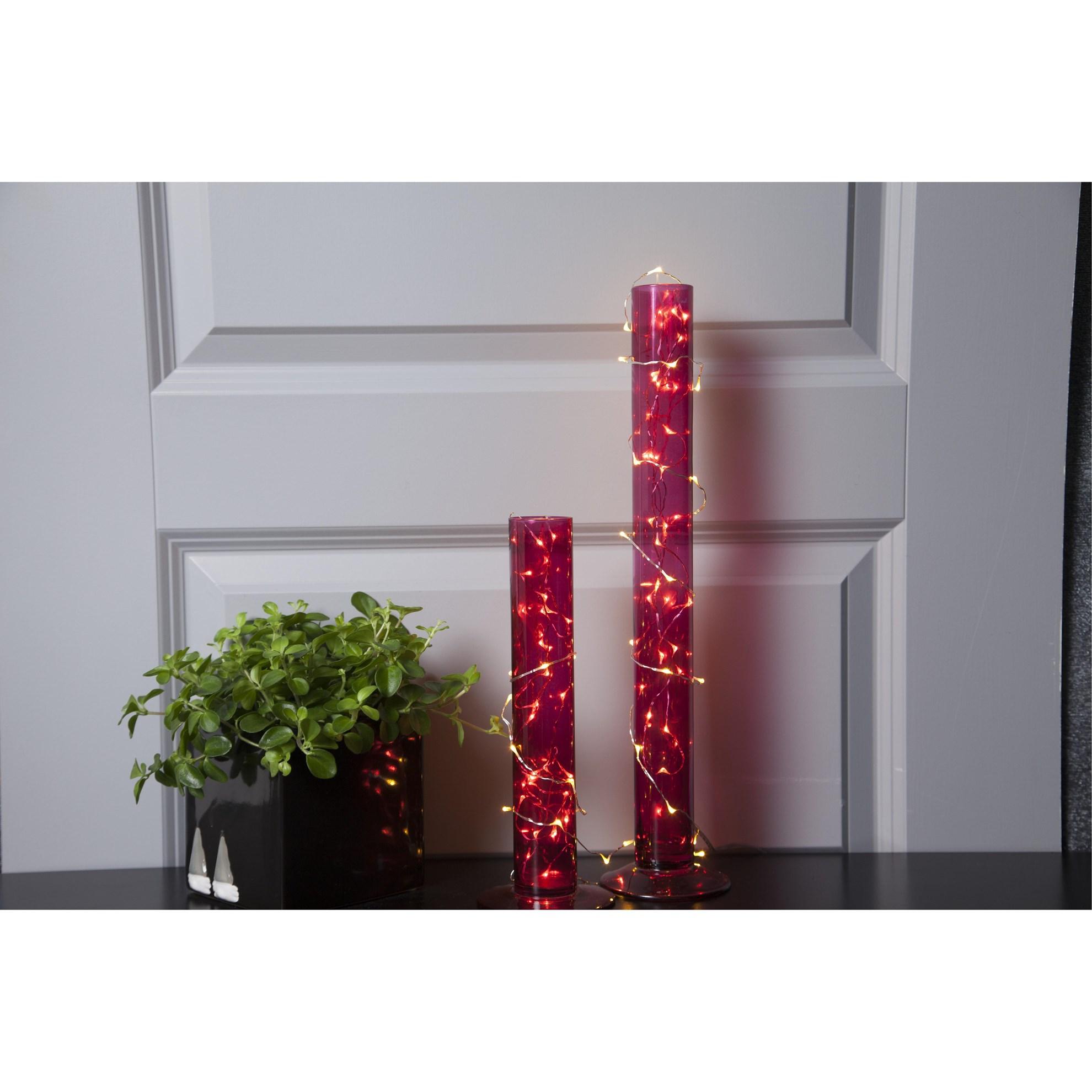 Světelný řetěz DEW DROP 100x LED stříbr._1