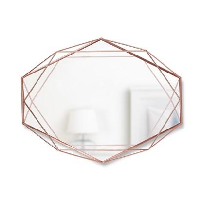 Zrcadlo PRISMA měděné_0
