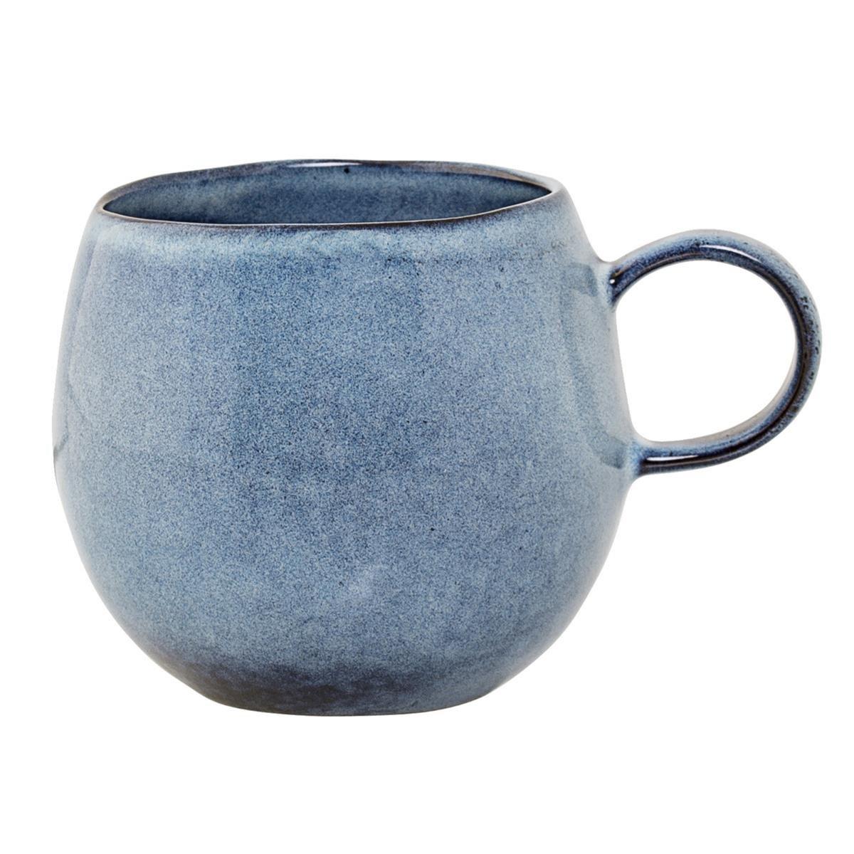 Kameninový hrnek V.9,5 cm modrý_1