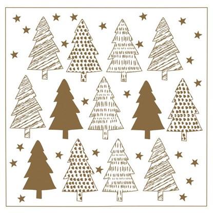 Malé vánoční přání 8x8cm s obálkou_0