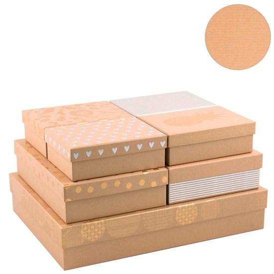 Kvalitní dárkové krabice SET/7 druhů_0