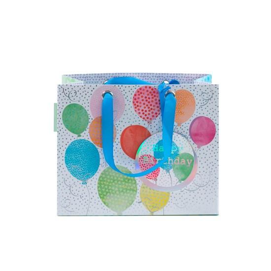 Kvalitní dárková taška 22x18x11 cm_0