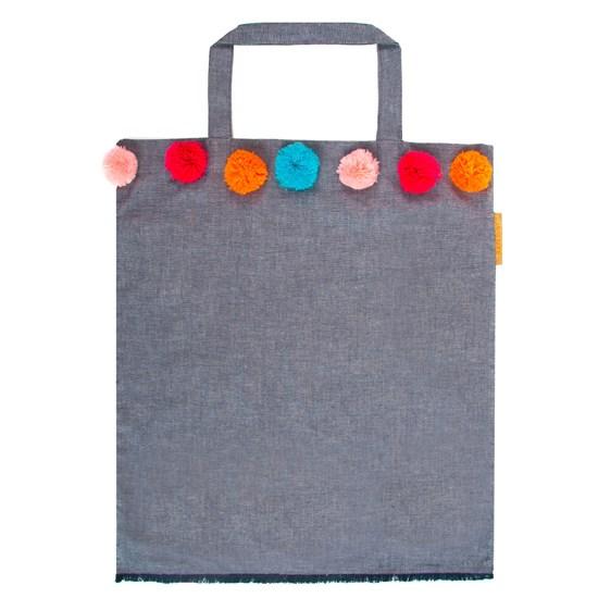 Bavlněná taška se střapci 40x45 cm_0
