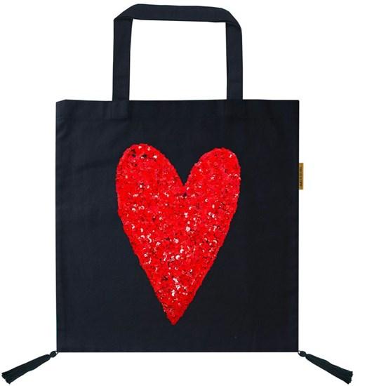 Bavlněná taška zdobená 40x45cm_0