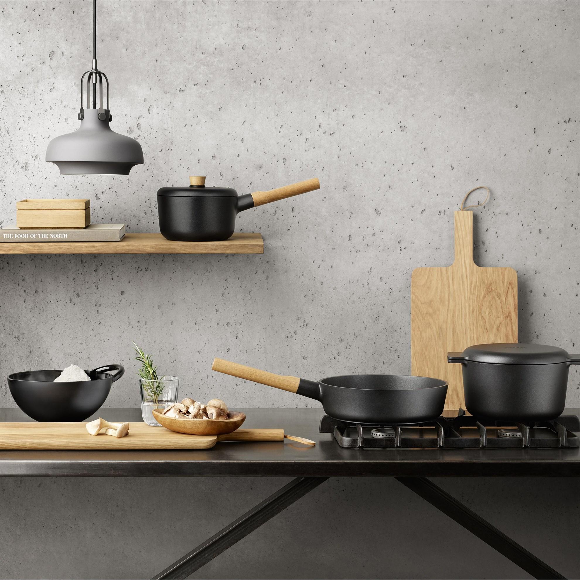 Mísa na salát 3l Nordic Kitchen černá_0