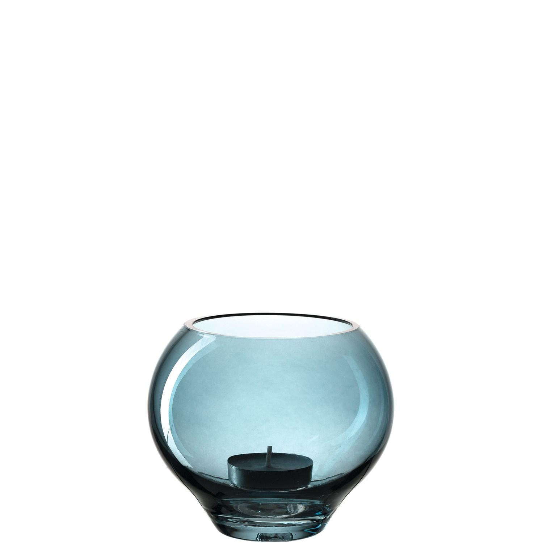 Svícen MILANO 11 cm modrý_0