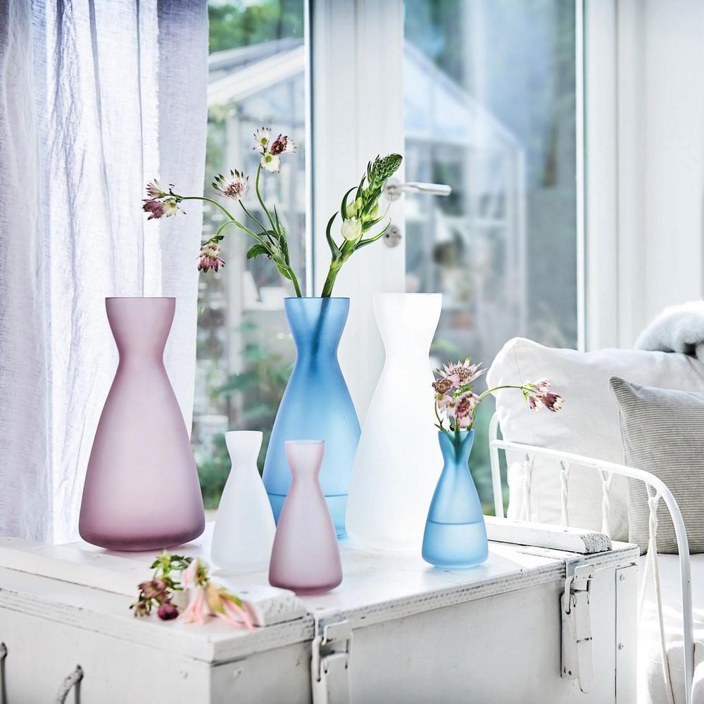 Váza MILANO 14 cm modrá_0