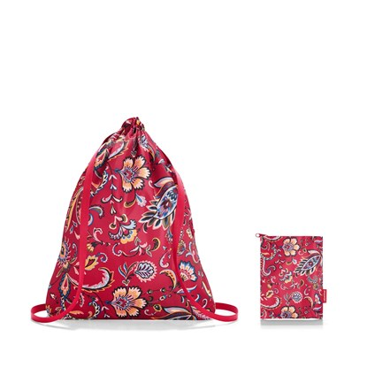 Vak na záda Mini Maxi Sacpack paisley ruby_3