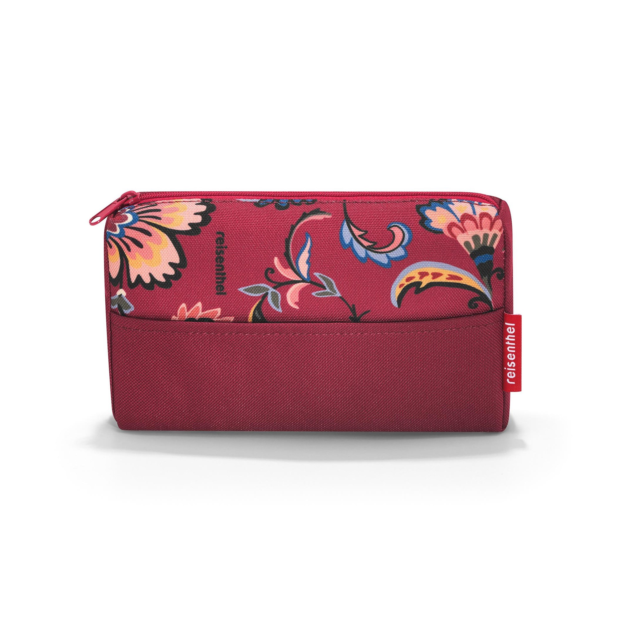 Kapsička na zip POCKETCASE paisley ruby_0