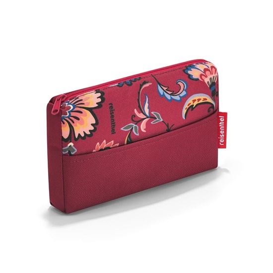 Kapsička na zip POCKETCASE paisley ruby_1