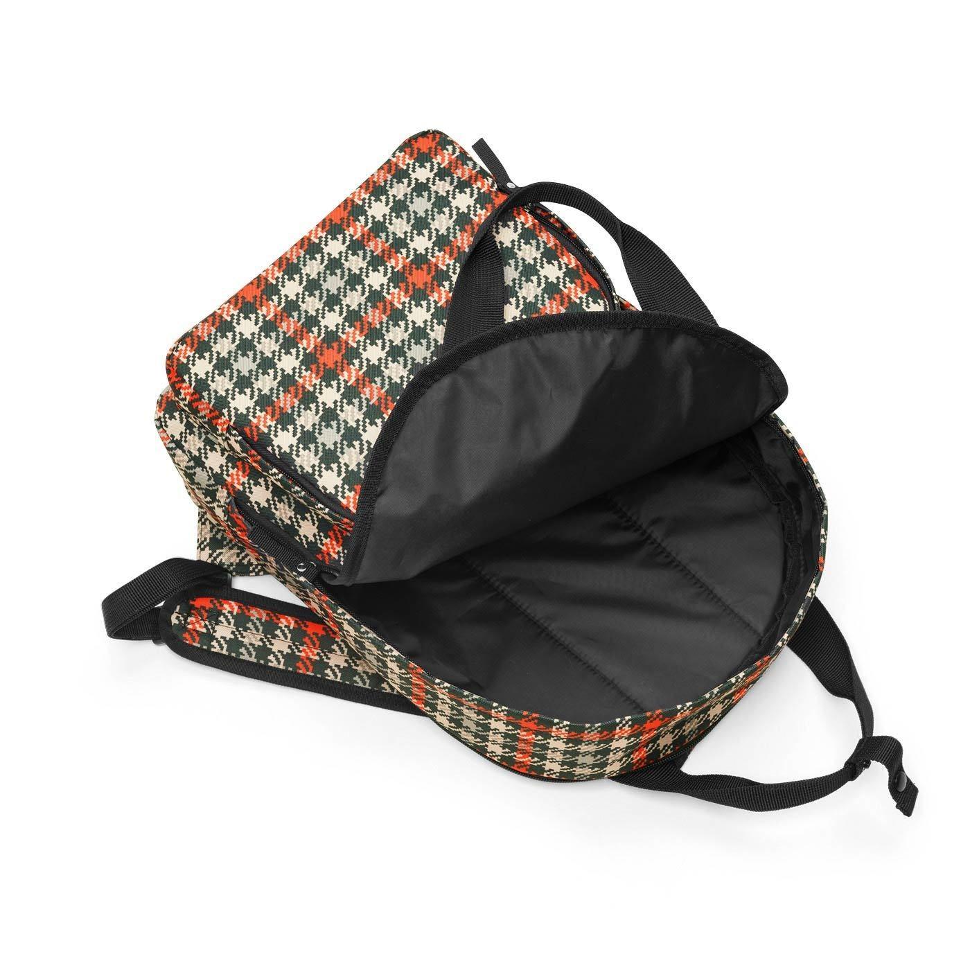 Lehký batoh/taška EASYFITBAG glencheck red_1