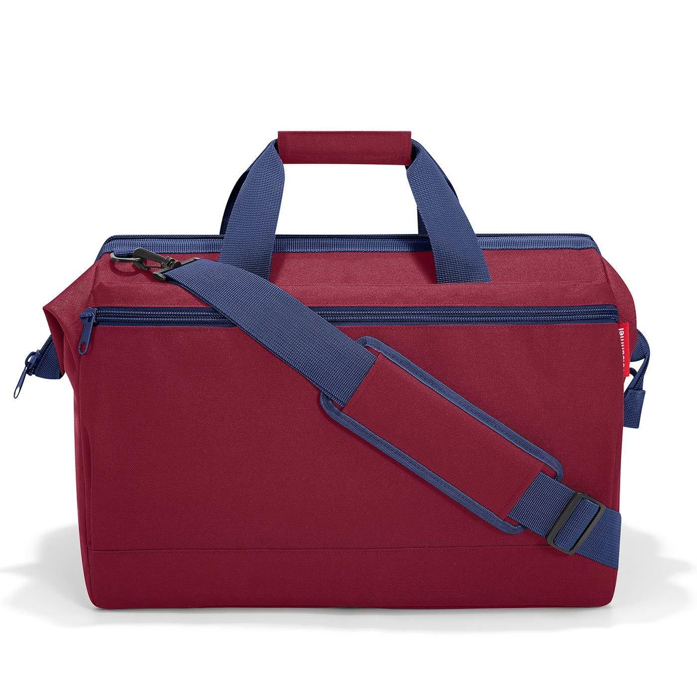 Cestovní taška ALLROUNDER L pocket dark ruby_1